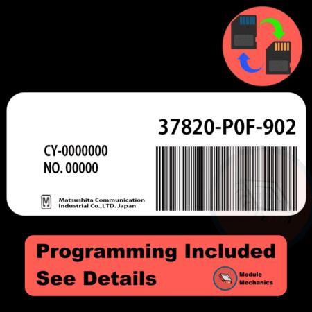 37820-P0F-902 ECU with PROGRAMMING - VIN & Security | Honda Prelude | ECM PCM Engine Control Computer OEM