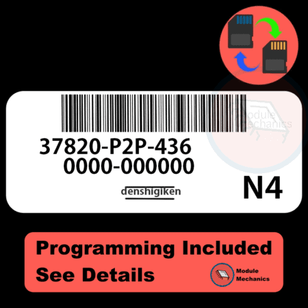 37820-P2P-436 ECU with PROGRAMMING - VIN & Security | Honda Civic | ECM PCM Engine Control Computer OEM