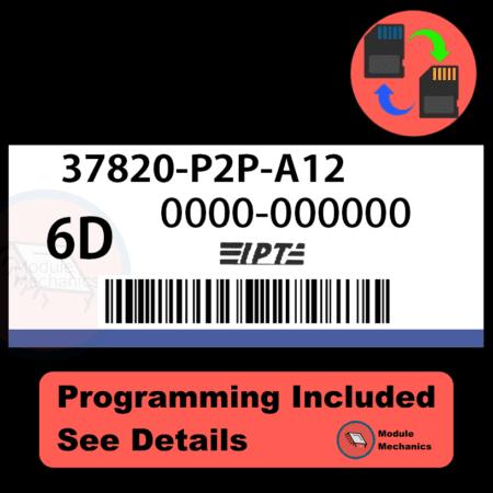 37820-P2P-A12 ECU with PROGRAMMING - VIN & Security | Honda Civic | ECM PCM Engine Control Computer OEM