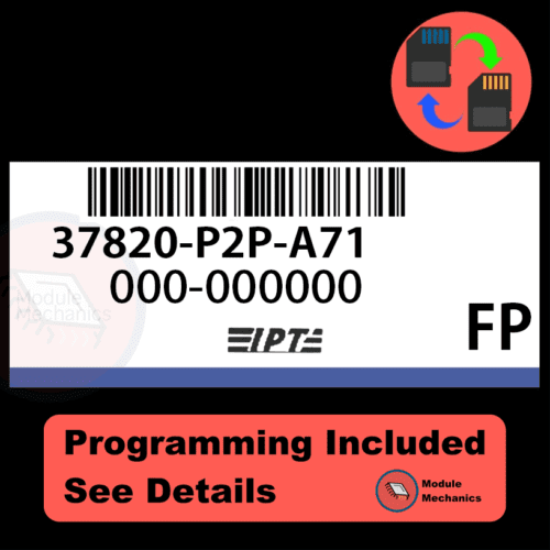 37820-P2P-A71 ECU with PROGRAMMING - VIN & Security | Honda Civic | ECM PCM Engine Control Computer OEM
