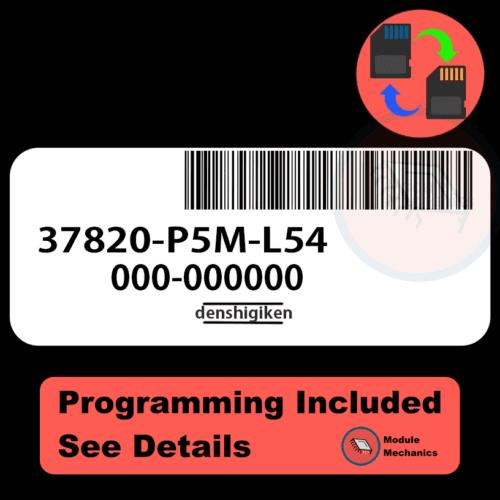 37820-P5M-L54 ECU with PROGRAMMING - VIN & Security | Honda Prelude | ECM PCM Engine Control Computer OEM