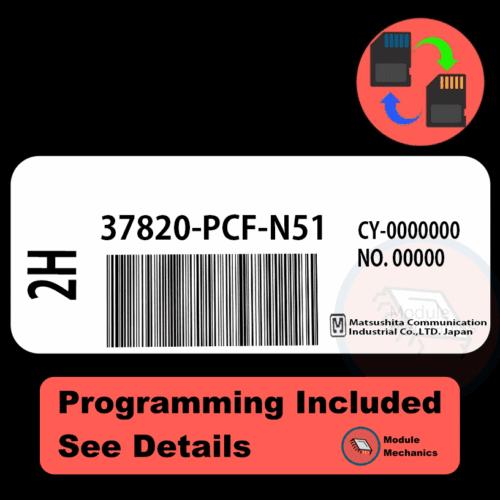 37820-PCF-N51 ECU with PROGRAMMING - VIN & Security   Honda Prelude   ECM PCM Engine Control Computer OEM