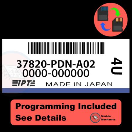 37820-PDN-A02 ECU with PROGRAMMING - VIN & Security | Honda Civic | ECM PCM Engine Control Computer OEM