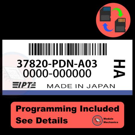 37820-PDN-A03 ECU with PROGRAMMING - VIN & Security | Honda Civic | ECM PCM Engine Control Computer OEM