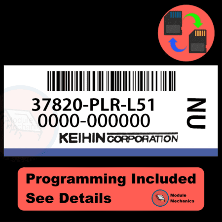 37820-PLR-L51 ECU with PROGRAMMING - VIN & Security | Honda Civic | ECM PCM Engine Control Computer OEM