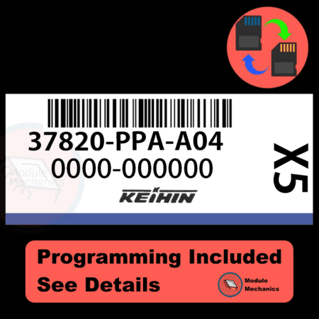37820-PPA-A04 ECU with PROGRAMMING - VIN & Security | Honda CRV | ECM PCM Engine Control Computer OEM