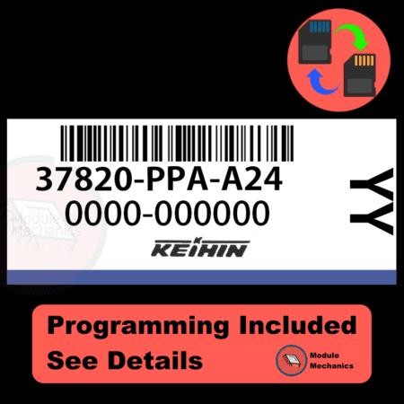 37820-PPA-A24 ECU with PROGRAMMING - VIN & Security   Honda CRV   ECM PCM Engine Control Computer OEM