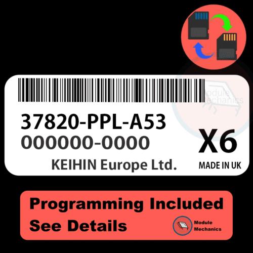 37820-PPL-A53 ECU with PROGRAMMING - VIN & Security | Honda CRV | ECM PCM Engine Control Computer OEM