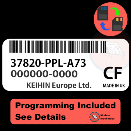 37820-PPL-A73 ECU with PROGRAMMING - VIN & Security | Honda CRV | ECM PCM Engine Control Computer OEM