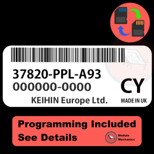 37820-PPL-A93 ECU with PROGRAMMING - VIN & Security | Honda CRV | ECM PCM Engine Control Computer OEM