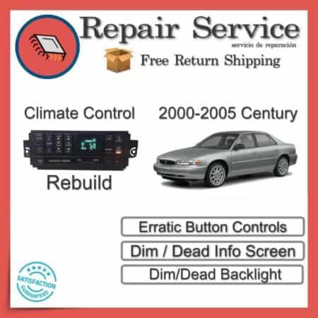 2000-2005 Buick Century Climate Control Repair Service