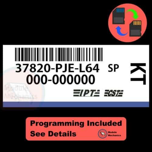 37820-PJE-L64 W/ PROGRAMMING Acura CL TL 2002 2003 02 03 ECU ECM COMPUTER
