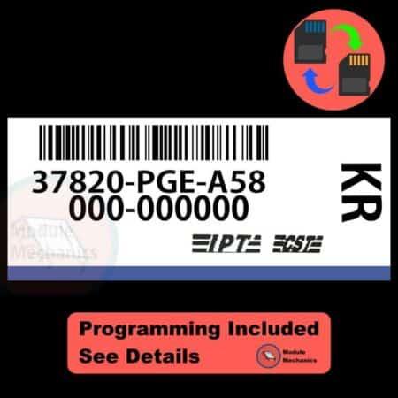 37820-PGE-A58 W/ PROGRAMMING Acura CL TL 2001-2003 01 02 03 ECU ECM COMPUTER