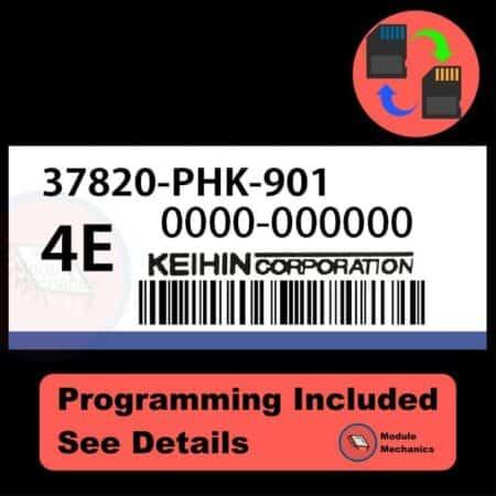 37820-PHK-901 ECU with PROGRAMMING - VIN & Security   Honda CRV   ECM PCM Engine Control Computer OEM