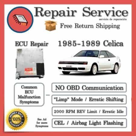 1985-1989 Toyota Celica Engine Computer ECU Repair Service