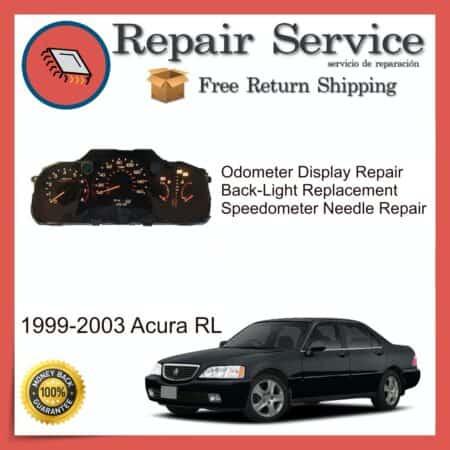 1999-2003 Acura RL Gauge Cluster Repair Service