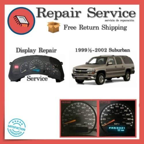 1999-2002 Chevrolet Suburban Gauge Cluster Repair Service