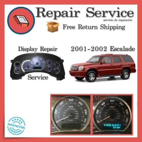 2000-2002 Cadillac Escalade Gauge Cluster Repair Service