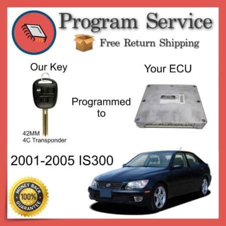 2001-2005 Lexus IS300 ECU to Key Programming Service