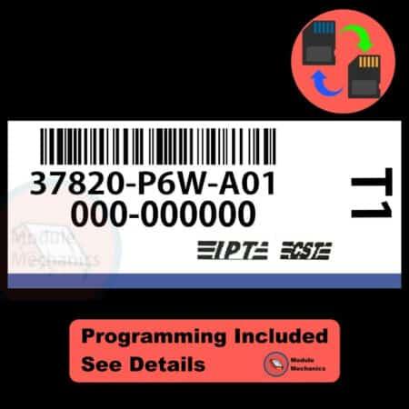 37820-P6W-A01 W/ PROGRAMMING Acura CL TL 1998 1999 98 99 ECU ECM COMPUTER