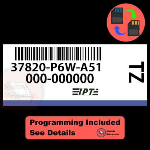 37820-P6W-A51 W/ PROGRAMMING Acura CL TL 1998 1999 98 99 ECU ECM COMPUTER