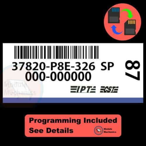 37820-P8E-326 W/ PROGRAMMING Acura CL TL 2001 2002 01 02 ECU ECM COMPUTER