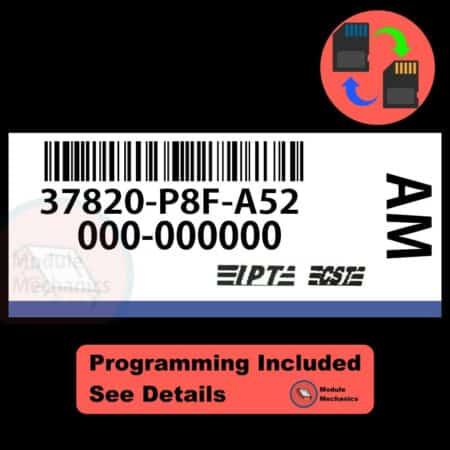 37820-P8F-A52 W/ PROGRAMMING Honda Odyssey 1999-2001 99 00 01 ECU ECM BCM