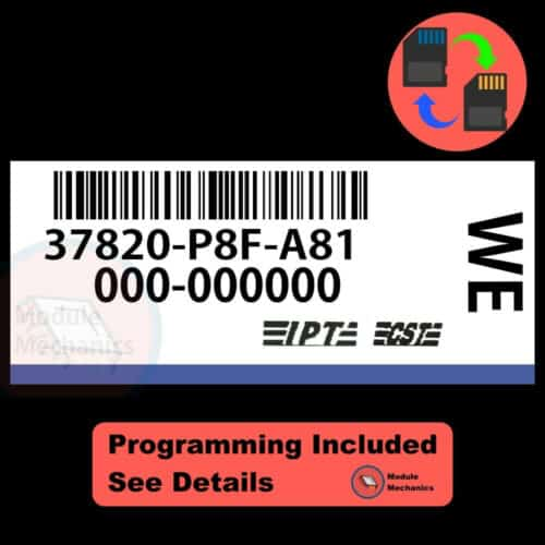 37820-P8F-A81 W/ PROGRAMMING Honda Odyssey 2002-2004 02 03 04 ECU ECM BCM