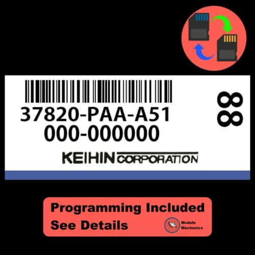 37820-PAA-A51 ECU W/ Immobilizer / Security Programming Honda Accord