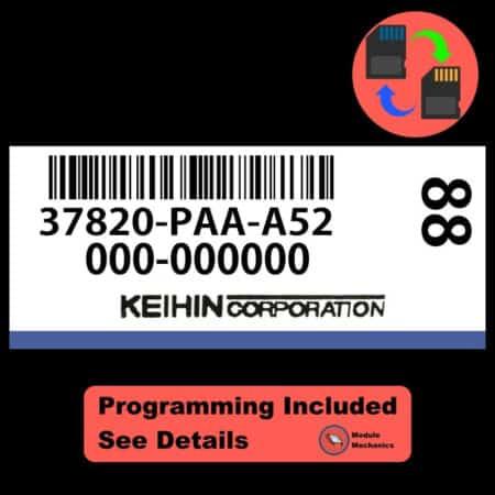 37820-PAA-A52 ECU W/ Immobilizer / Security Programming Honda Accord