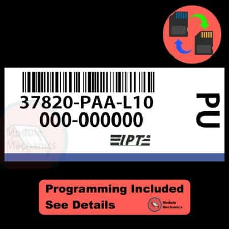 37820-PAA-L10 ECU W/ Immobilizer / Security Programming Honda Accord