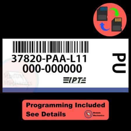 37820-PAA-L11 ECU W/ Immobilizer / Security Programming Honda Accord