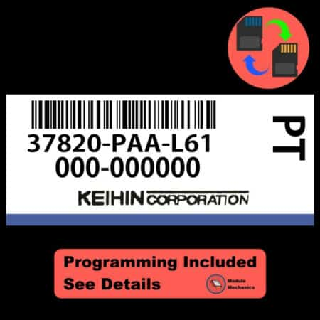 37820-PAA-L61 ECU W/ Immobilizer / Security Programming Honda Accord