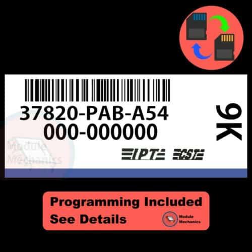 37820-PAB-A54 ECU W/ Immobilizer / Security Programming Honda Accord