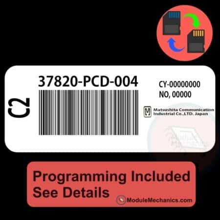 37820-PCD-004 ECU W/ Immobilizer / Security Programming Honda Accord