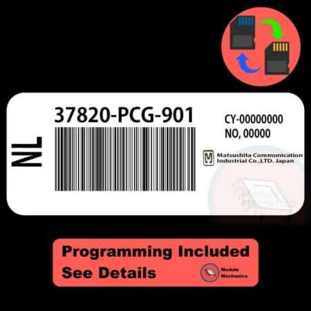 37820-PCG-901 ECU W/ Immobilizer / Security Programming Honda Accord