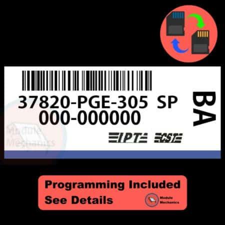 37820-PGE-305 W/ PROGRAMMING Acura CL TL 2001 2002 01 02 ECU ECM COMPUTER