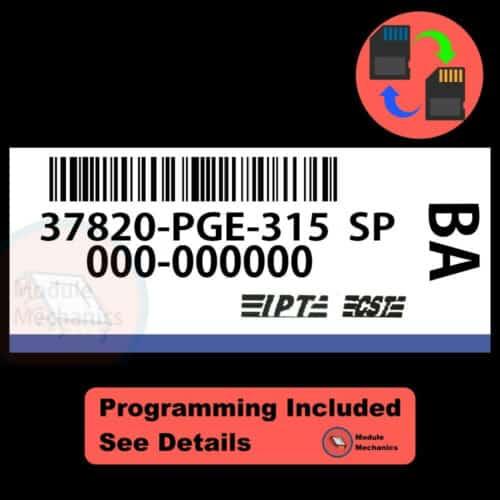37820-PGE-315 W/ PROGRAMMING Acura CL TL 2001 2002 01 02 ECU ECM COMPUTER