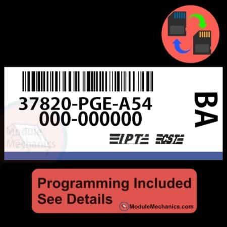 37820-PGE-A54 W/ PROGRAMMING Acura CL TL 2001-2003 01 02 03 ECU ECM COMPUTER