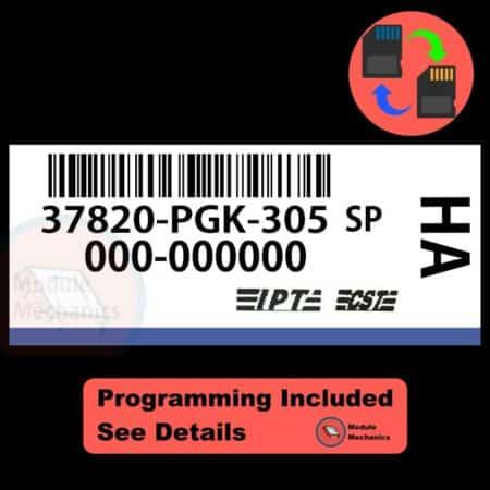 37820-PGK-305 W/ PROGRAMMING Acura MDX 2001 2002 01 02 ECU ECM BCM COMPUTER