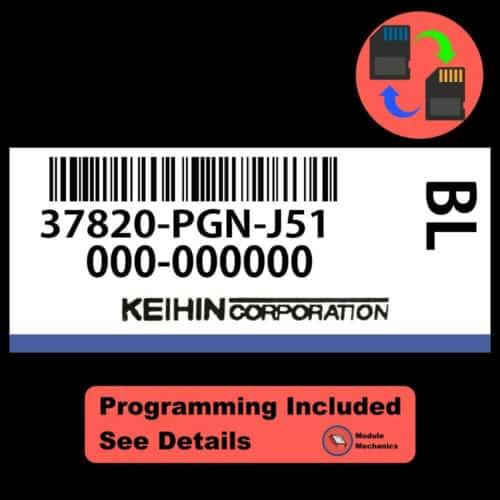 37820-PGN-J51 W/ PROGRAMMING Honda Odyssey 1999-2001 99 00 01 ECU ECM BCM