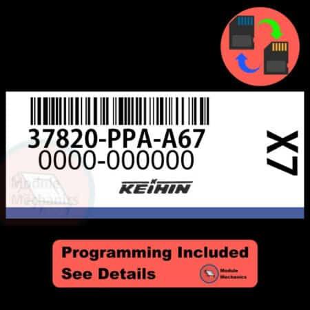 37820-PPA-A67 ECU W/ Immobilizer / Security Programming Honda CR-V