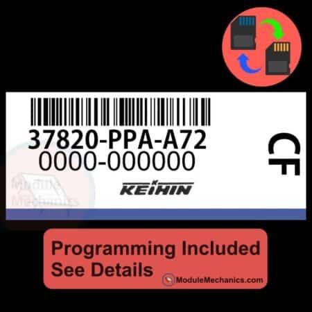 37820-PPA-A72 ECU W/ Immobilizer / Security Programming Honda CR-V