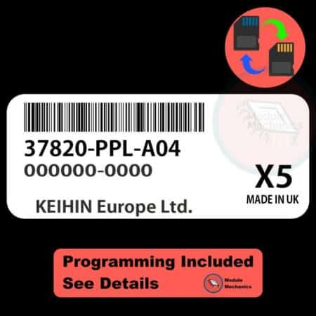 37820-PPL-A04 ECU W/ Immobilizer / Security Programming Honda CR-V