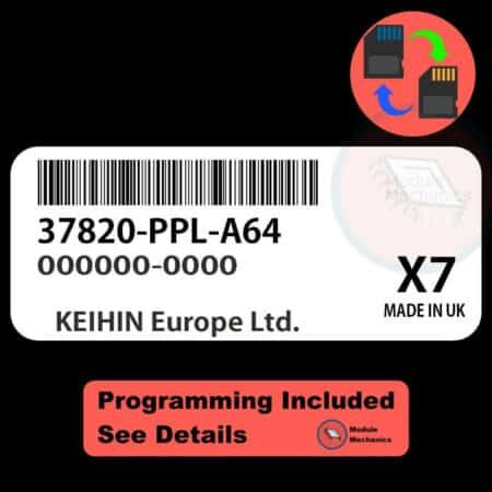 37820-PPL-A64 ECU W/ Immobilizer / Security Programming Honda CR-V