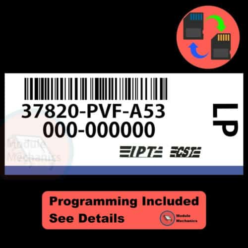 37820-PVF-A53 W/ PROGRAMMING Honda Pilot 2003 2004 03 04 ECU ECM BCM COMPUTER