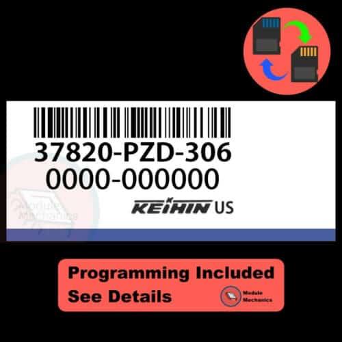 37820-PZD-306 OEM ECU W/ Immobilizer / Security Programming Honda Element