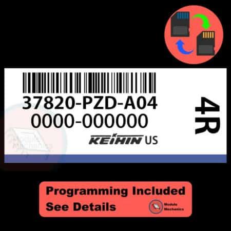 37820-PZD-A04 OEM ECU W/ Immobilizer / Security Programming Honda Element