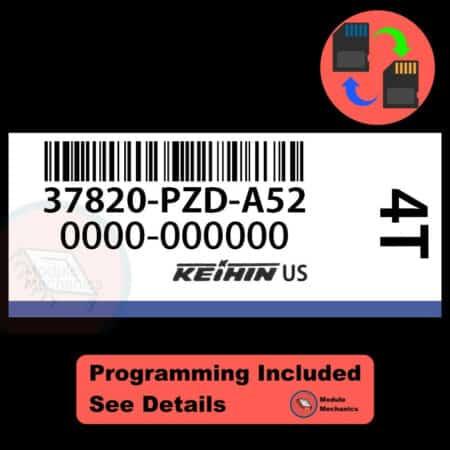 37820-PZD-A52 OEM ECU W/ Immobilizer / Security Programming Honda Element