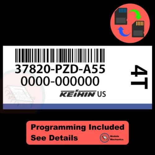 37820-PZD-A55 OEM ECU W/ Immobilizer / Security Programming Honda Element